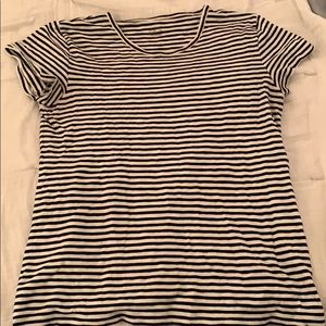 Versatile black and white strip J.Crew Tee